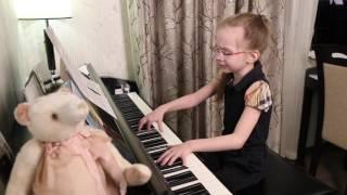 Океанами стали - Виктория Викторовна, 8 лет - (cover Alekseev)