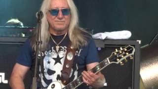 Uriah Heep Easy Livin Ramblin Man Fair UK 2016 MAH01379