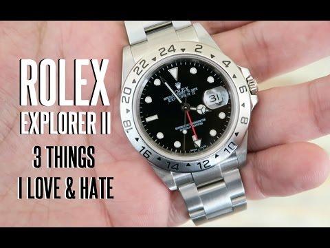 ROLEX Explorer II - 3 Things I LOVE & HATE