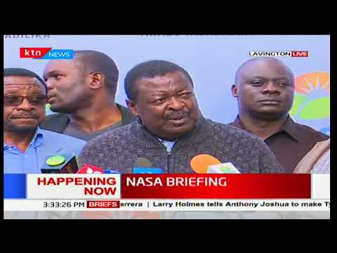 Musalia Mudavadi's claims Jubilee and IEBC are working together