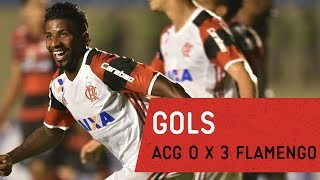 GOLS | Atlético Goianiense 0 x 3 Flamengo - Brasileirão 2017