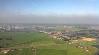 Flying Into Amsterdam Schiphol Airport Part 2
