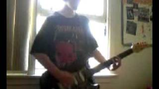 the trooper iron maiden guitar cover