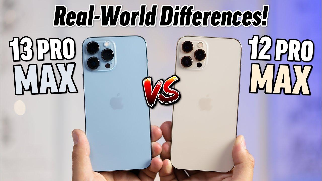 Download iPhone 13 Pro Max vs 12 Pro Max - Ultimate Comparison!