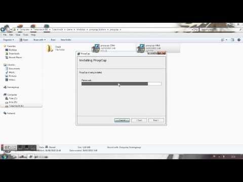 Install & settings ProxyCap - YouTube