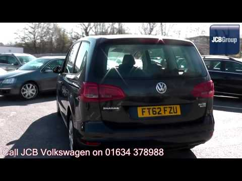 2012 Volkswagen Sharan S 2l Urano Grey Metallic FT62FZU for sale at JCB VW Medway