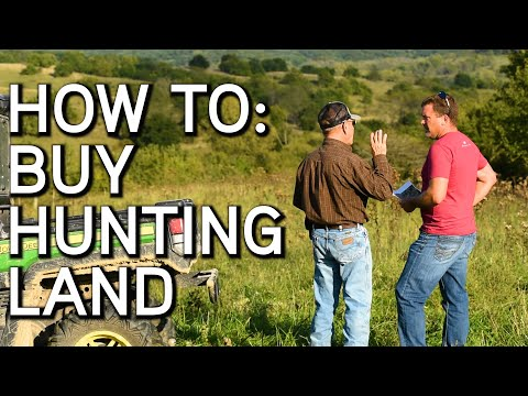 How To Buy Hunting Land