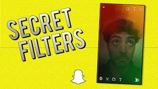 How to get SECRET Filters in Snapchat! (Snapchat Tips and Tricks)