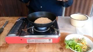 Coconut Flour Flatbread - Gluten-free, Grain-free, Egg-free, Nut-free