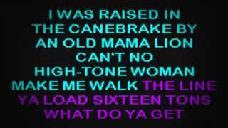 SC0903 03   Ford, Tennessee Ernie   Sixteen Tons [karaoke]