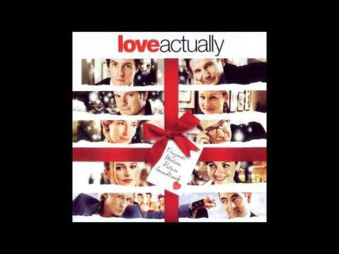 Love Actually - White Christmas By Otis Redding (With lyrics Song )