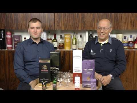 Islay Tasting mit Benedikt und Horst Lüning