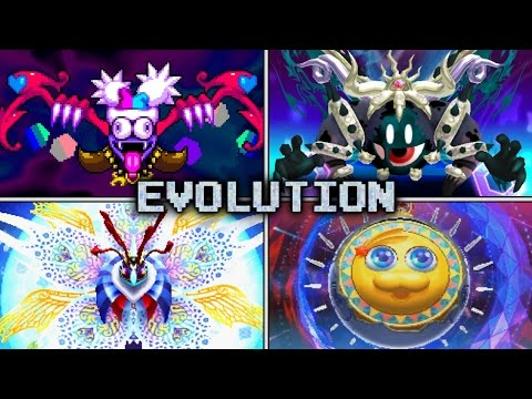 Evolution of Soul Battles in Kirby games (2005 - 2016)