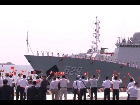 Chinese Naval Fleet Visits Vietnam to Boost Naval Ties