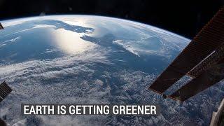 زيادة انبعاث СО2 تفيد في اخضرار الأرض