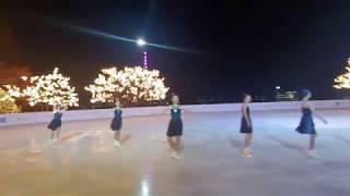 싱크로 엔젤스 하얏트호텔 아이스링크 공연 2019