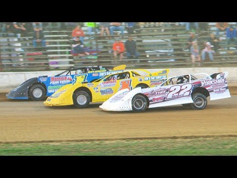 Super Late Model Heat Two at Stateline Speedway (Busti, NY) on Saturday, August 31st, 2019! Stateline Speedway: http://newstatelinespeedway.com. - dirt track racing video image