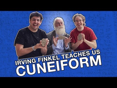 Irving Finkel Teaches Us Cuneiform