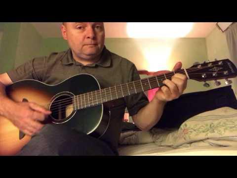 Sliding the D chord 7th fret  G Chord 9th Fret  A Chord