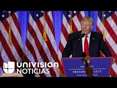Por primera vez Trump acepta que Rusia hackeó al Partido Demócrata en las elecciones