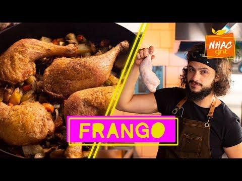 Coxa sobrecoxa e peito de frango: Mohamad ensina como fazer carne branca PERFEITA  Mohamad no Nhac