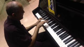 Voltes V Theme Piano Version