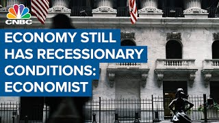 This is still an economy with recessionary conditions for many people: Economist