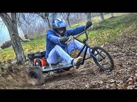 Homemade 200cc BMX