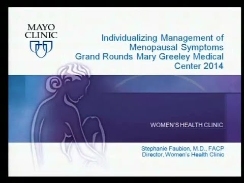 Menopausal Hormone Therapy 2014Dr. Stephanie Faubion 7/23/14