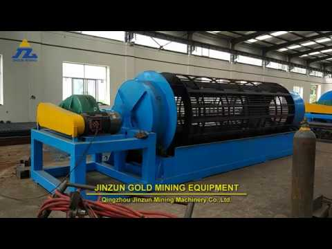 71 Inch Alluvial Gold & Diamond trommel wash mining machine
