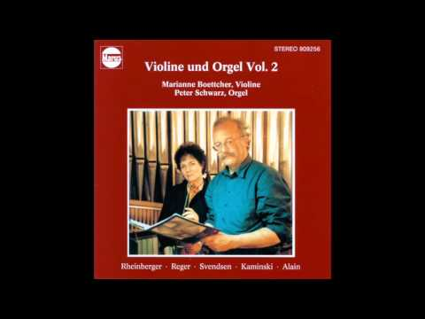 Johan Severin Svendsen - Romanze G-Dur op. 26