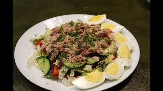 Салат з тунцем. Смачний салат / Салат с тунцом. Вкусный салат