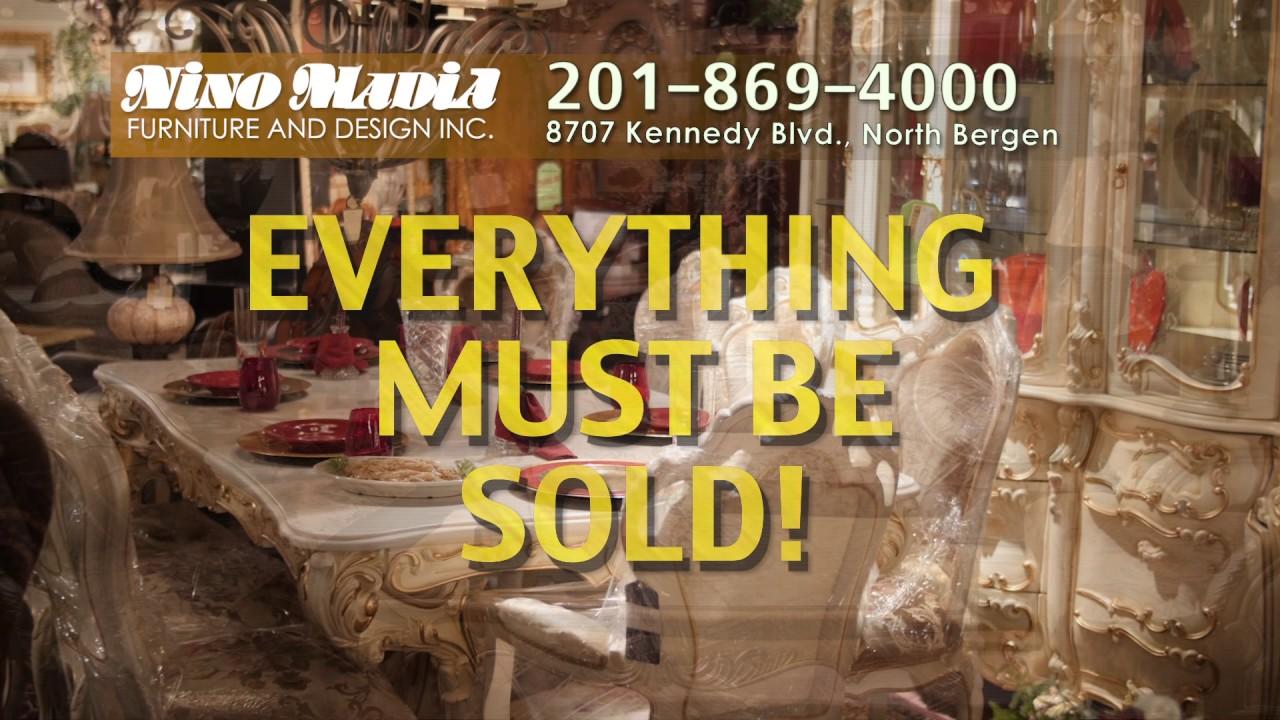 Nino Madia Furniture Liquidation Sale Youtube