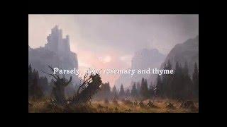 SCARBOROUGH FAIR Instrumental (with lyrics)