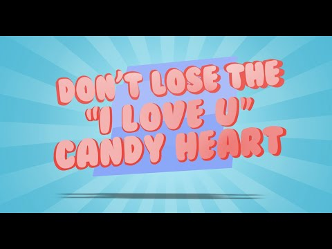 Candy Heart Shuffle - Sunday School Game For Kids