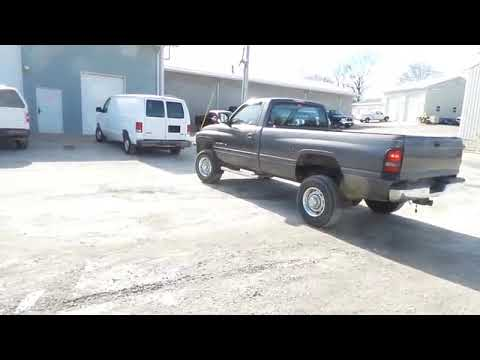 2002 Dodge Ram 2500 pickup truck for sale at auction | bidding closes February 27, 2019