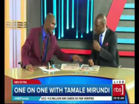 Tamale Mirundi Beats up Television Host