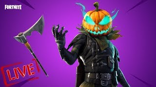 Fortnite Battle Royale - NEW Hollow Head Skin & Carver Pickaxe - Item Shop Update