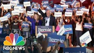 Sanders Sets Sight On South Carolina After Nevada Win | NBC Nightly News