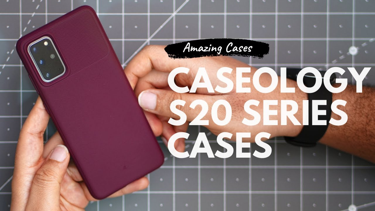 Galaxy S20 Plus Caseology Case Lineup Review - Best S20 Cases