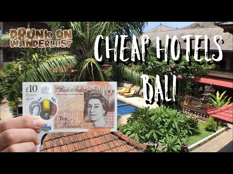 CHEAP HOTELS BALI - Hotels for £10 a night Bali