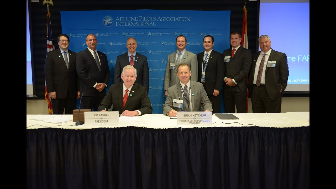 It's Official! Frontier Pilots Merge with ALPA