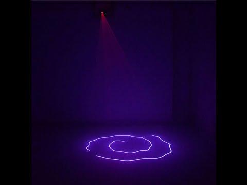 Mini Portable IR 8 CH DMX Purple Laser Scanner Stage Lighting PRO DJ Party LED Show Lights DM-V150