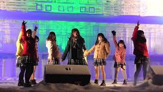 20180207 第69回 さっぽろ雪まつり 北海道ご当地アイドル フルーティー.