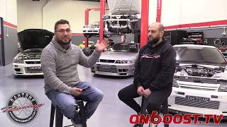 Onboost TV feature of Dahtone Racing