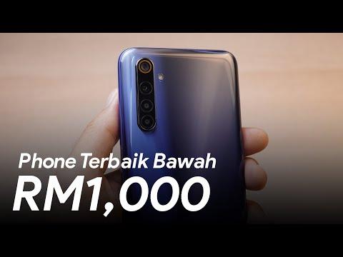 Smartphone Terbaik Bawah RM1000!