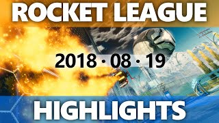 Rocket League Highlights 2018 08 19