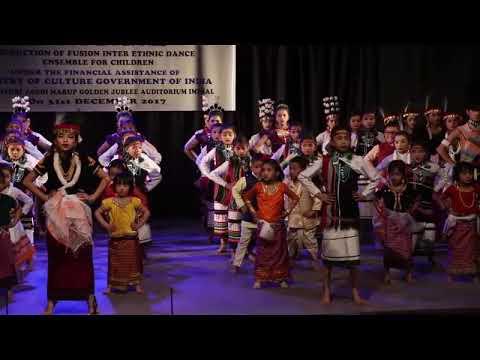Aribam Raseswori Devi One Month Children Workshop On Manipuri Dance