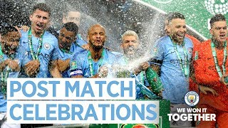Party time LIVE!!  |  City Squad Celebrate Carabao Cup win