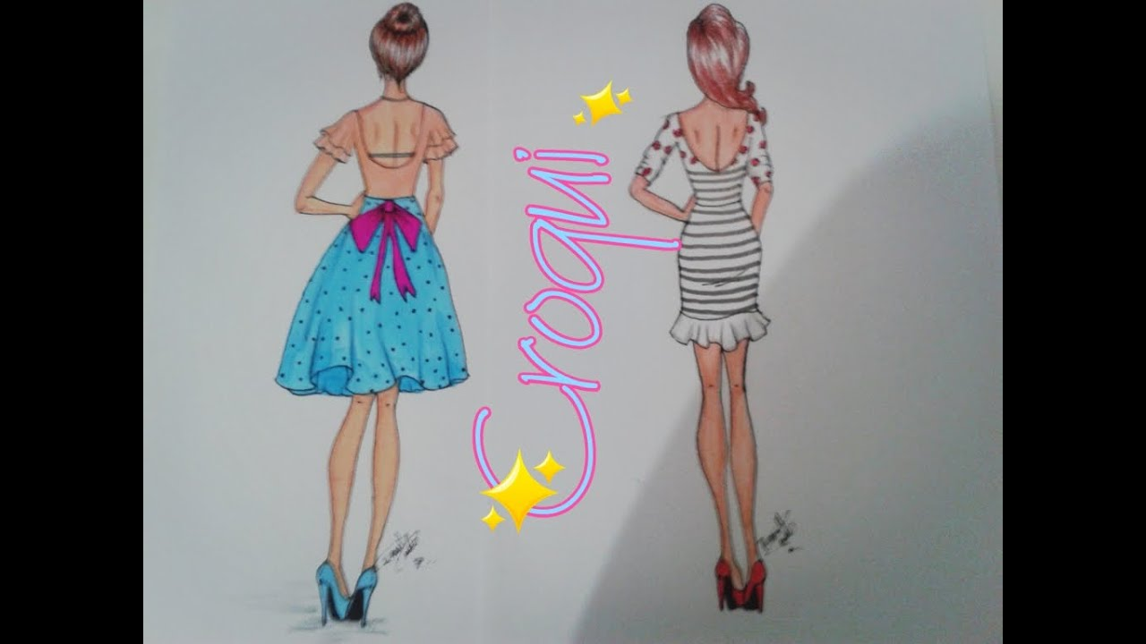 Free Fashion Design Croquis